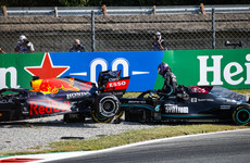 F1 boss hopes championship will be 'won on the track' after another Hamilton/Verstappen crash
