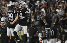 Raiders edge out Ravens in overtime of thrilling opener