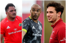 The Munster depth chart: Zebo's return and the promising young guns