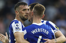 'Coming from a bad place to do what he's doing now is excellent' - Brighton skipper hails Duffy