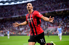 Ibrahimovic ruled out of Milan's Champions League return at Liverpool