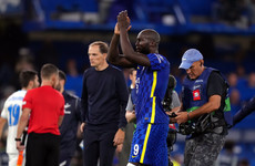 Lukaku's powerful header gives Chelsea winning start to Champions League defence