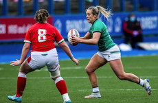 Stacey Flood settling into key out-half role with Ireland Women