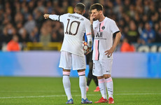 Lionel Messi's European debut for PSG ends in anti-climactic fashion