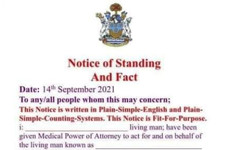Debunked: No, you can't give someone medical power of attorney with a 'Notice of Standing and Fact'
