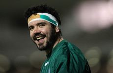 Connacht's Paul Boyle hungry for more after first taste of Ireland camp