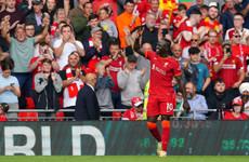 Sadio Mané hits 100th Liverpool goal as Jurgen Klopp's side see off Crystal Palace