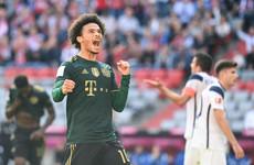 Bayern hit seven past Bochum to move top of Bundesliga