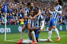 Brighton continue fine form with win over Leicester