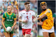 Meath, Tyrone and Antrim stars win GAA Player of the Month awards for September