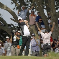 PGA Championship: McIlroy's charge cut short by storms