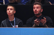 Romeo Beckham has potential to forge professional football career: Neville