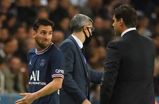 Lionel Messi sidelined with knee injury