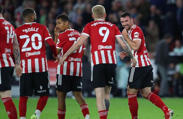 Irish players hit the net, Man City win 6-1 and Everton lose on penalties