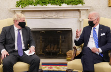 Biden stresses importance of NI peace process and downplays trade deal during Johnson meeting