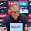 Koeman refuses to answer questions, walks out of Barcelona press conference