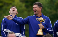 Pádraig Harrington promises European team he will get a tattoo if they win Ryder Cup