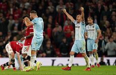 West Ham knock Man United out of Carabao Cup with first Old Trafford win since 2007