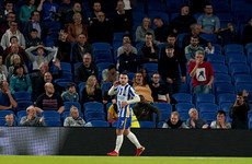 Aaron Connolly scores twice to fire Brighton into Carabao Cup fourth round
