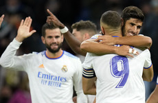 Asensio bags hat-trick as Real Madrid hit Mallorca for six