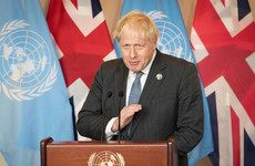 Boris Johnson makes call for 'humanity to grow up' and address climate problems in UN speech