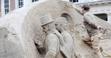 PHOTOS: Giant sand sculptures return to Dublin Castle