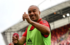 Munster name Zebo in their starting line-up and Snyman on the bench for Sharks clash