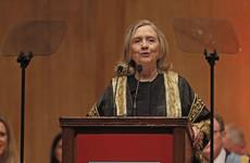 Hillary Clinton has been installed as chancellor of Queen's University Belfast
