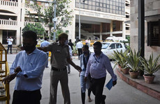 Notorious crime gang suspect shot dead by attackers dressed as lawyers in Indian courtroom
