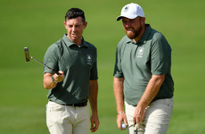 McIlroy and Lowry paired together for Ryder Cup fourballs at Whistling Straits