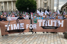 Protests take place across Ireland against UK Government legacy proposals