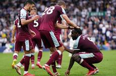 Michail Antonio nets late winner as Leeds equal record winless start