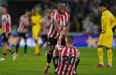 Brentford hit back twice to snatch point in thrilling draw with Liverpool