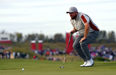 Lowry on fire but US in command against Europe in pursuit of Ryder Cup