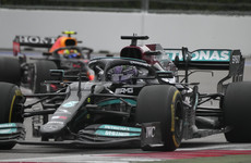 Hamilton reclaims championship lead from Verstappen with 100th career win