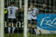 Dundalk ease relegation fears with entertaining victory over Bohs