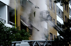 Around 20 people hurt after explosion in Swedish apartment block