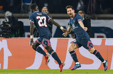 Lionel Messi off the mark as Paris St Germain beat Manchester City