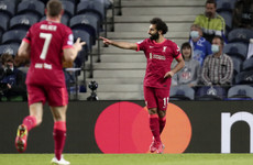 Salah, Mane and Firmino all on target as Liverpool rout hapless Porto