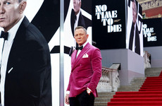 Latest Bond film No Time To Die premieres in London