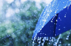 Rainfall warning for three western counties in place until tonight