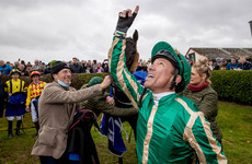 Jubilant scenes as Frankie Dettori turns up in Bellewstown and delivers famous success