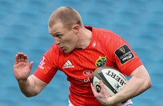 Munster name Keith Earls at outside centre for first time since 2018