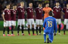 Rangers report Sparta Prague fans' targeting of Kamara to Uefa
