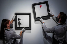 Street artist Banksy's famous 'Girl and Balloon' work to go on sale
