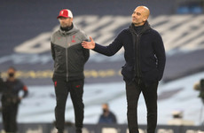 I know I've annoyed Pep Guardiola but I like him, says Jurgen Klopp