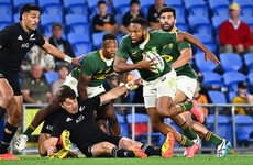 South Africa beat All Blacks in instant classic as sides swap lead four times in final minutes