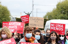 'We know your fight': Protesters in Dublin gather to oppose Texan abortion law