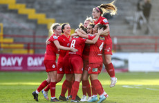 Kavanagh scores first WNL goal on live TV as Shelbourne move up to second