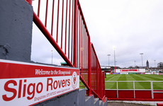 Sligo Rovers' grip of third place under threat following draw at home with Waterford